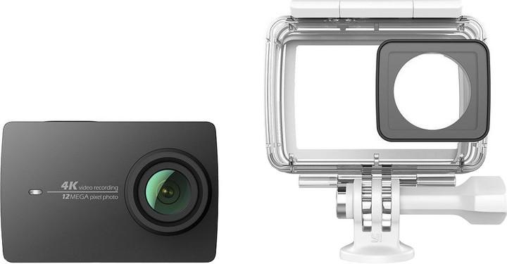 Yi 4K Action Camera 2 Waterproof Set, černá