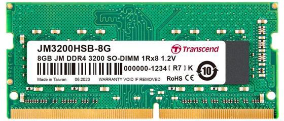 Transcend 8GB DDR4 3200 CL22 SO-DIMM
