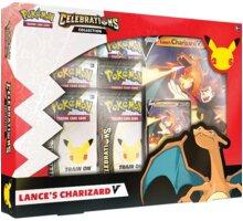 Karetní hra Pokémon TCG: Celebrations Lance's Charizard V Box