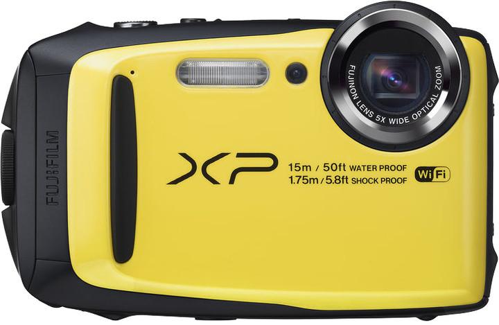 Fujifilm FinePix XP90, žlutá