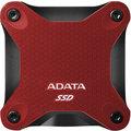 ADATA ASD600Q, USB3.1 - 240GB, červená