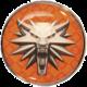 Odznak The Witcher - School of the Wolf