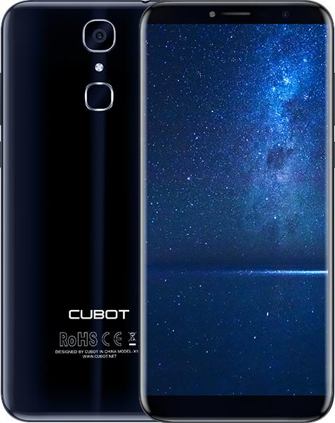 CUBOT X18 - 32GB, modrá