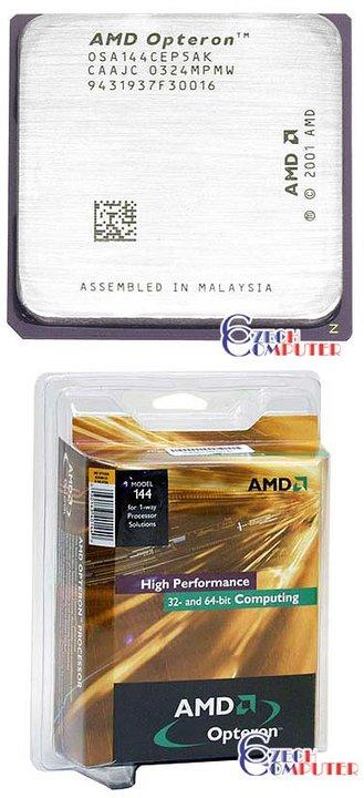 AMD Opteron 144 BOX, 939