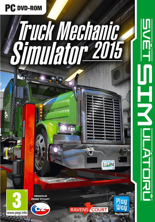 Truck Mechanic Simulator 2015 (PC)