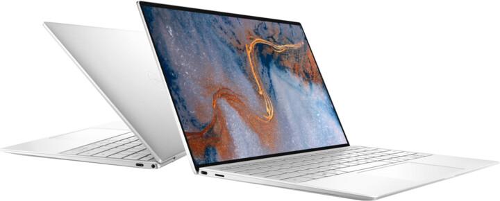 Dell XPS 13 (9310) Touch, stříbrná-bílá