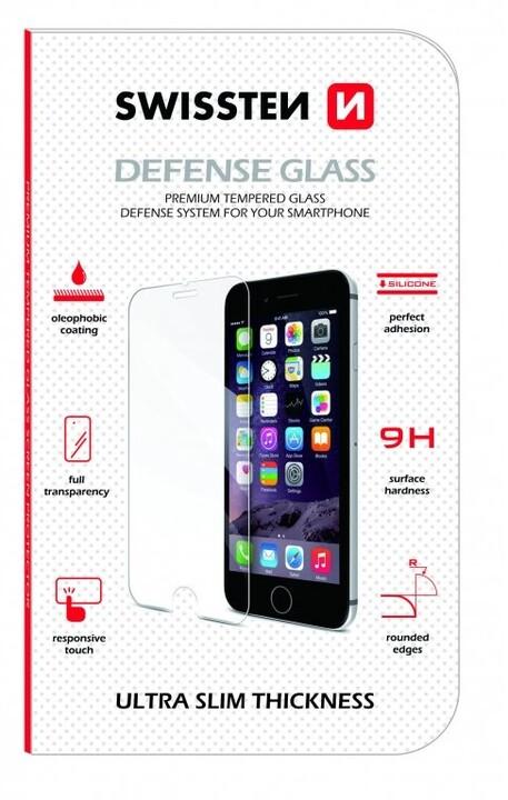 SWISSTEN ochranné temperované sklo 2.5D pro iPhone 7/8 RE, čiré
