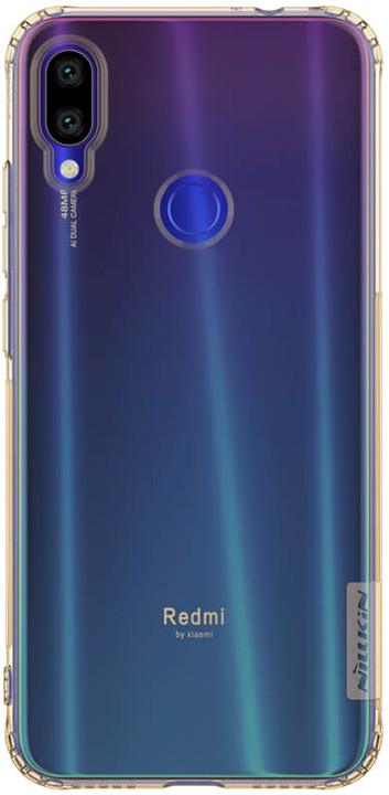 Nillkin Nature TPU Pouzdro pro Xiaomi Redmi Note 7, tawny