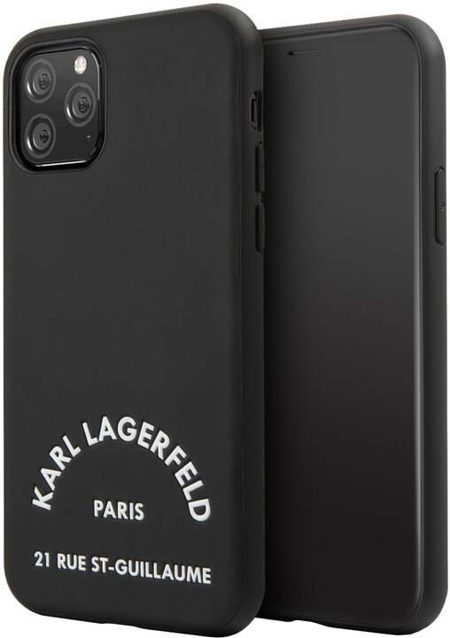 KARL LAGERFELD Rue St Gullaume kryt pro iPhone 11 Pro, černá