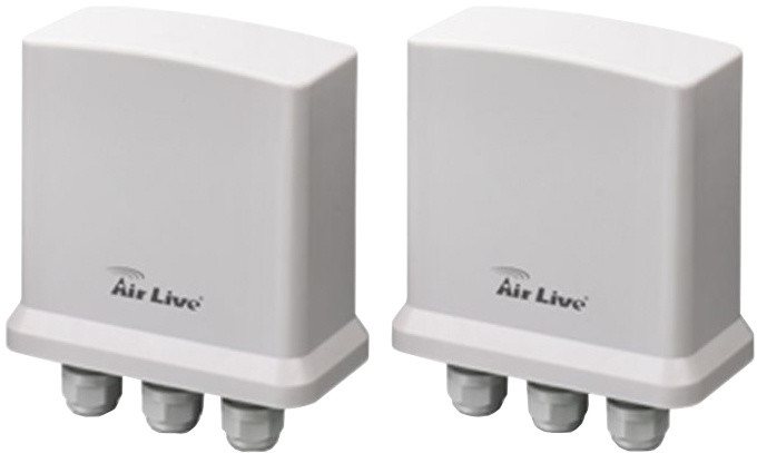 AirLive OD-200PE, 2x PoE outdoor, 10/100, IP65