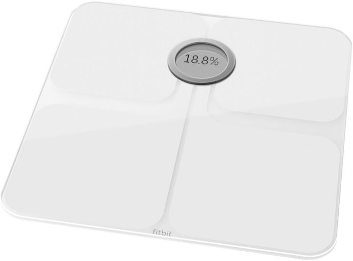 e67fd290d Fitbit Aria 2, bílá osobní váha FB202WT-EU | CZC.cz