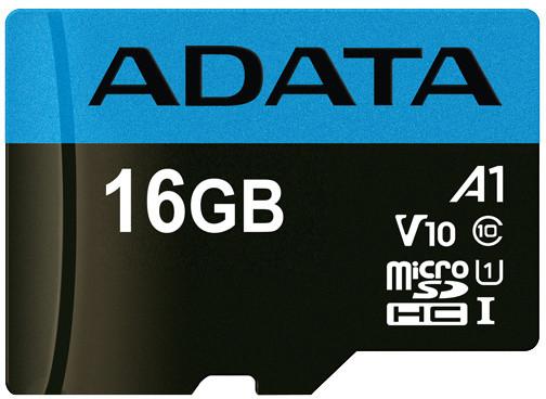 ADATA Micro SDHC Premier 16GB 85MB/s UHS-I A1
