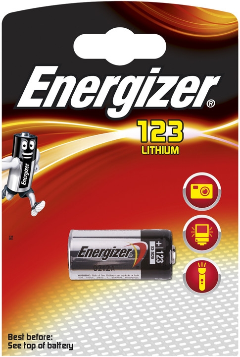 Energizer baterie EL123AP Lithium Photo