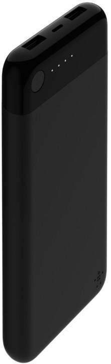 Belkin powerbanka 10000mAh s lightning konektorem + lightning kabel, černá