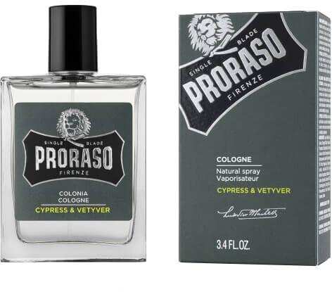 Kolínská voda Proraso, po holení, cypřiš a vousatka s bergamotem, 100 ml