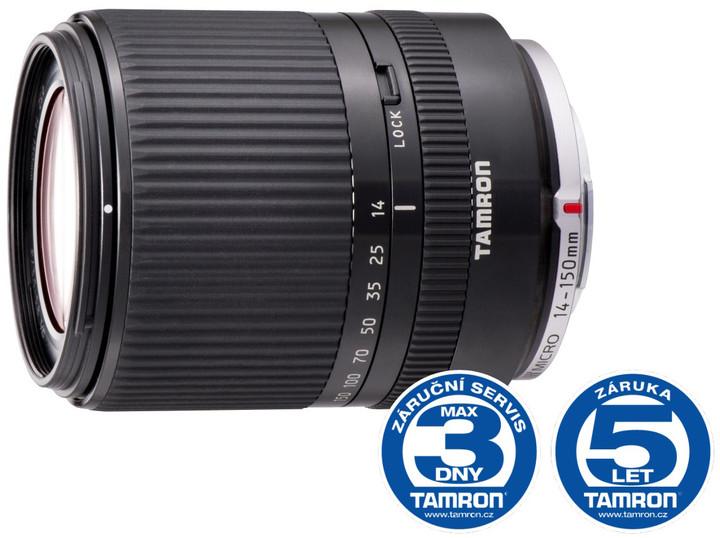 Tamron AF 14-150mm F/3.5-5.8 Di III černá pro Micro 4/3