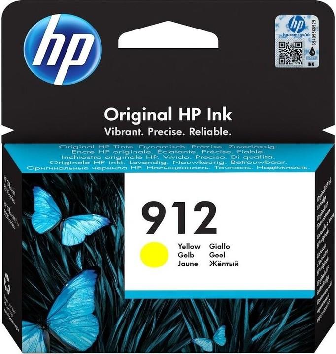 HP 3YL79AE č. 912, žlutá