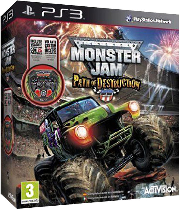 Monster Jam: Path of Destruction Bundle - PS3