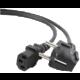 C-TECH kabel síťový 1,8m 220/230V napájecí, VDE