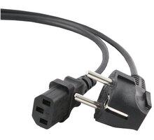 C-TECH kabel síťový 1,8m 220/230V napájecí, VDE - CB-PWRC13-18