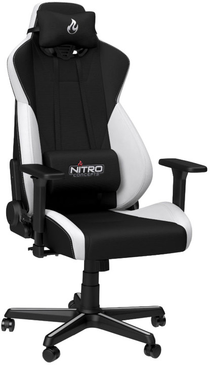Nitro Concepts S300, černá/bílá