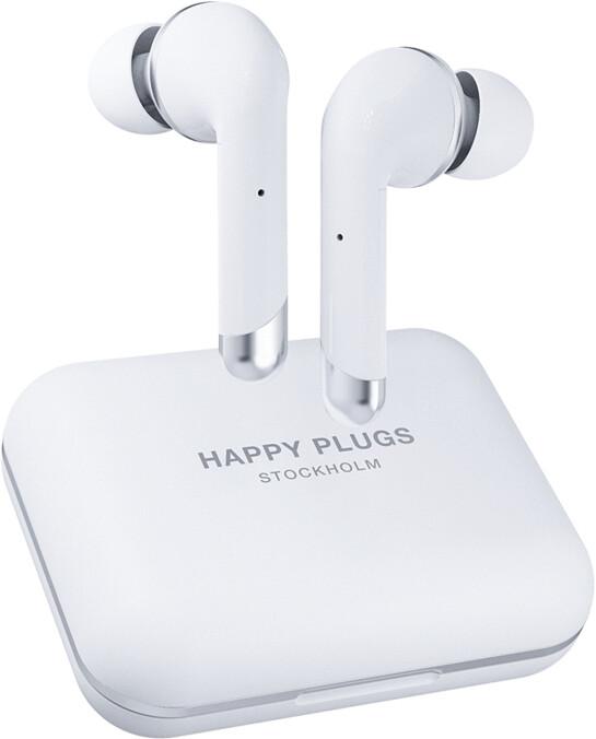 Happy Plugs Air 1 Plus In-Ear, bílá