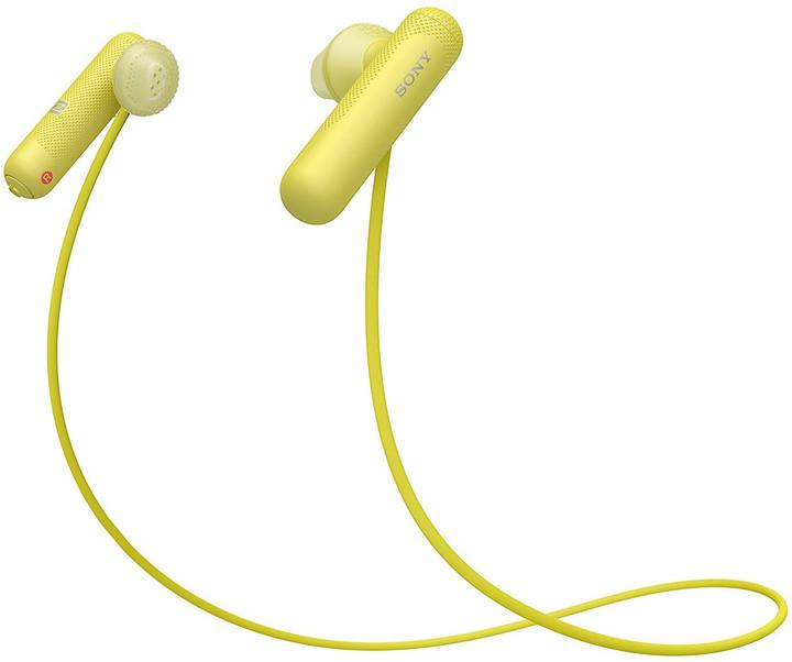 Sony WI-SP500, žlutá