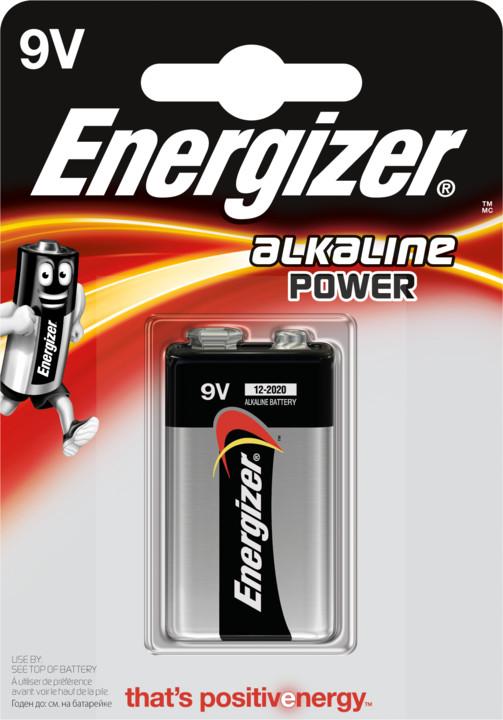 Energizer baterie 6LR61 Power Alkaline 9V
