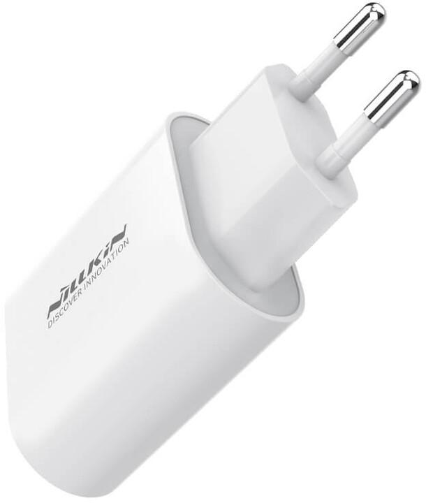 Nillkin Bijou 18W PD USB cestovní nabíječka, bílá