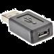 PremiumCord USB redukce micro USB B/Female - USB A/Male