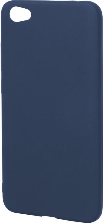 EPICO pružný plastový kryt pro Xiaomi Redmi Note 5A SILK MATT - tmavě modrý