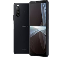 Sony Xperia 10 III, 6GB/128GB, 5G, Black + Antivir Bitdefender Mobile Security for Android 2020, 1 zařízení, 12 měsíců v hodnotě 299 Kč