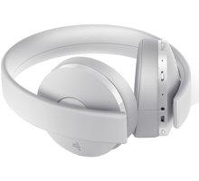 Sony PS4 - Gold Wireless Headset, bílá PS719737612