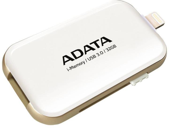 ADATA UE710 - 32GB, bílá