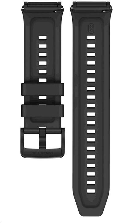 Huawei silikonový řemínek pro Watch GT2e, 22mm, černá