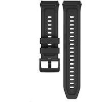 Huawei silikonový řemínek pro Watch GT2e, 22mm, černá - 55032656