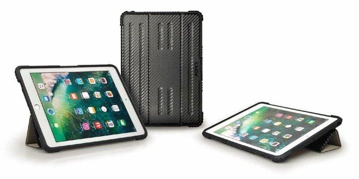 """PORT DESIGNS Rugged Folio pro 9,7"""" iPad, robustní pouzdro, černá"""