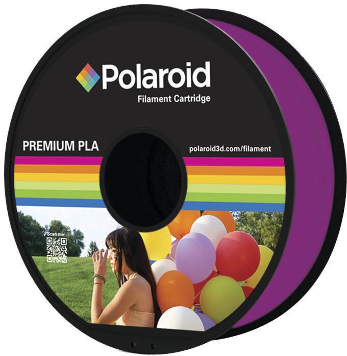 Polaroid 3D 1Kg Universal Premium PLA 1,75mm, transparentní fialová