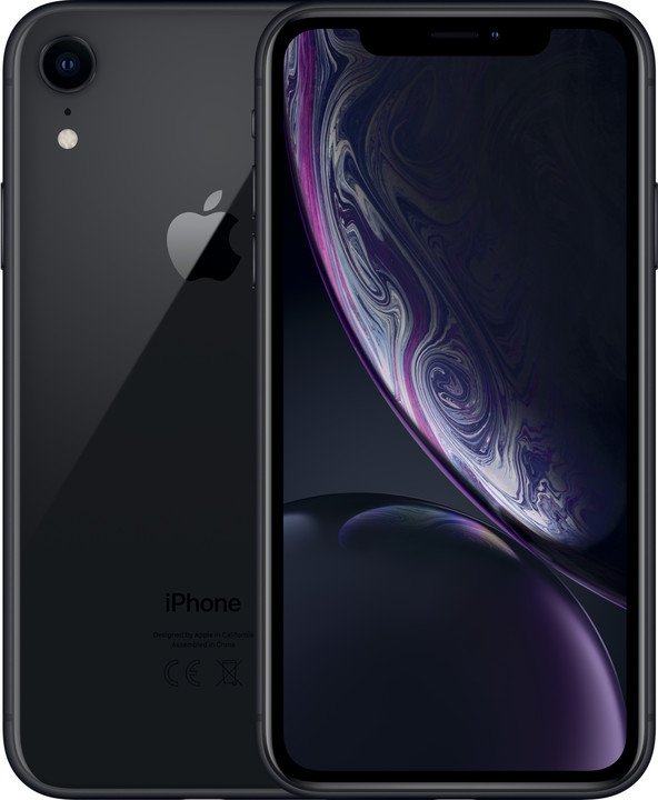 Apple iPhone Xr, 64GB, černá