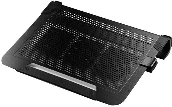 "CoolerMaster NotePal U3 PLUS, 15-19"", černá"
