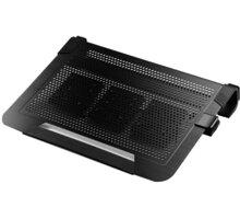 "Cooler Master NotePal U3 PLUS, 15-19"", černá - R9-NBC-U3PK-GP"