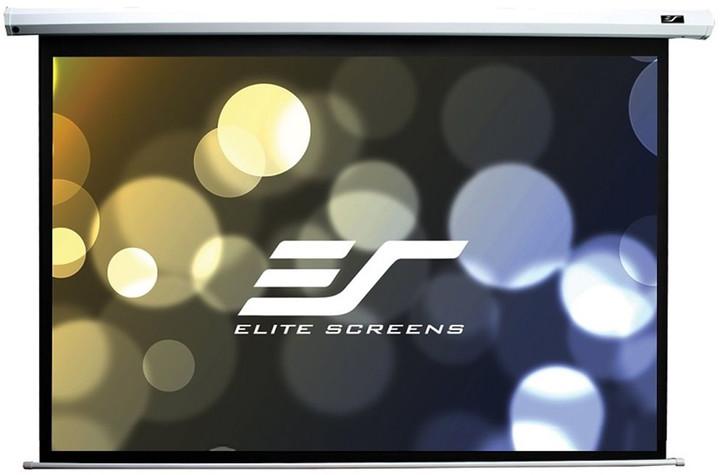 """Elite Screens plátno elektrické motorové 180"""" (457,2 cm)/ 4:3/ 274,3 x 365,8 cm/ case bílý"""