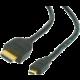 Gembird CABLEXPERT kabel HDMI-HDMI micro 4,5m, 1.3, M/M stíněný, zlacené kontakty, černá