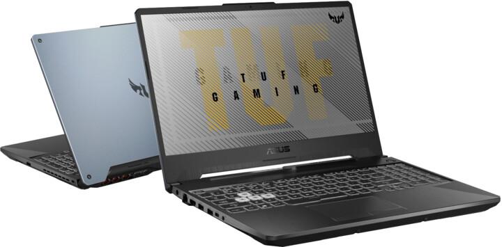ASUS TUF Gaming A15 (FA506), šedá