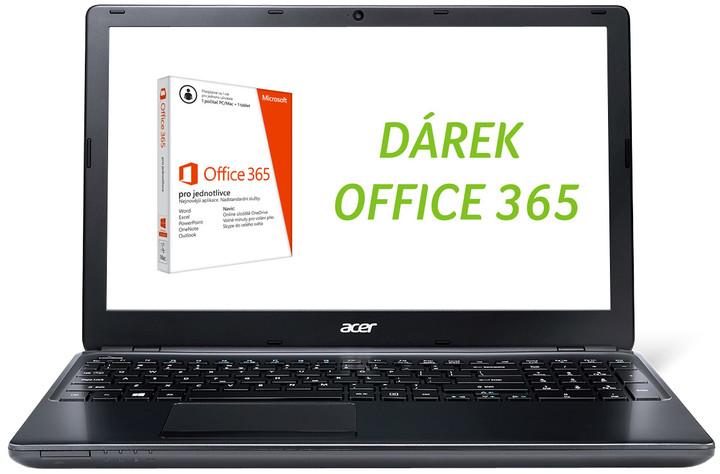 Acer Aspire E1-510-35204G1TMnkk, černá