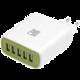 Pelitt síťová nabíjecí stanice P-604, 5x USB, bílá  + Voucher až na 3 měsíce HBO GO jako dárek (max 1 ks na objednávku)