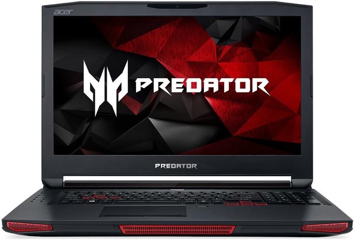 Acer Predator 17 X (GX-792-742E), černá