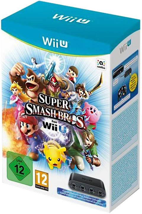 Super Smash Bros. + GC Controller Adapter (WiiU)