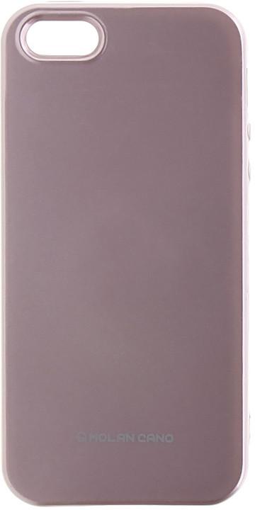 Molan Cano Jelly TPU Pouzdro pro Xiaomi Redmi 5 Plus, růžově zlatá