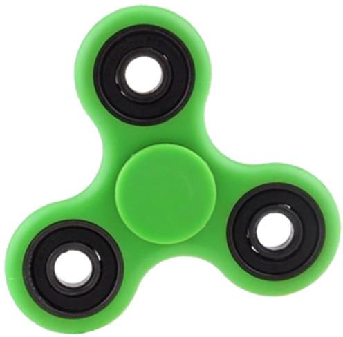 Fidget Spinner Glow, zelený